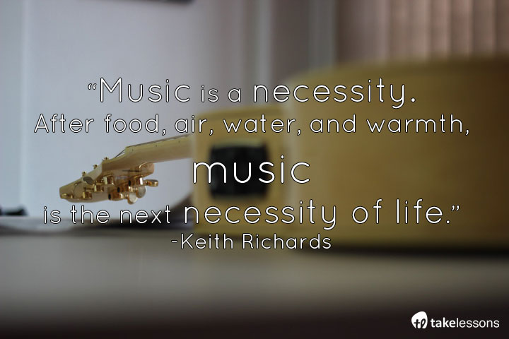 Music is a necessity. #guitar @officialKeef