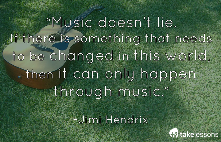 Music doesn't lie. Jimi Hendrix #guitar @JimiHendrix