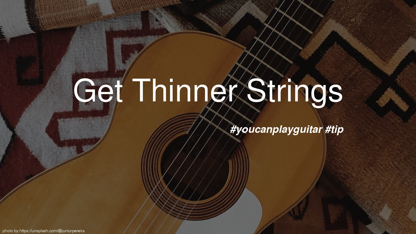 Get Thinner Strings