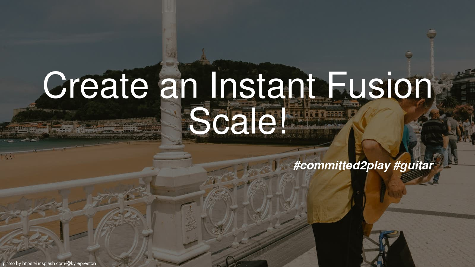Create an Instant Fusion Scale!