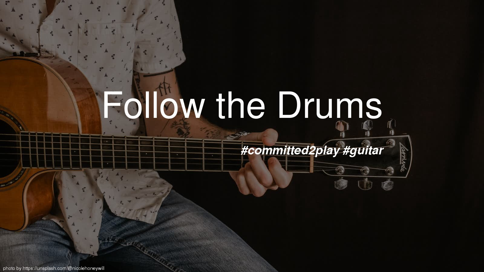 Follow the Drums