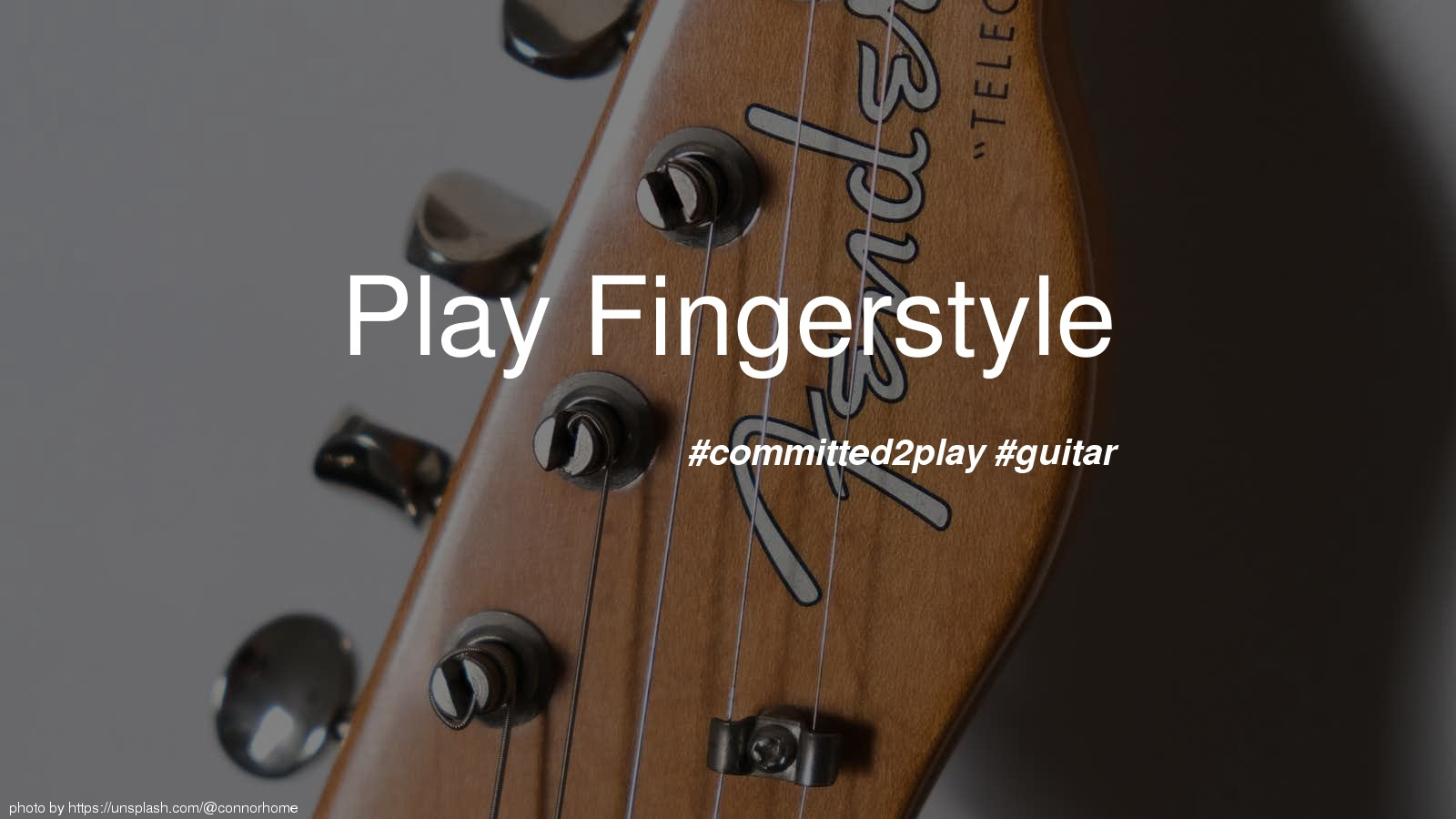 Play Fingerstyle