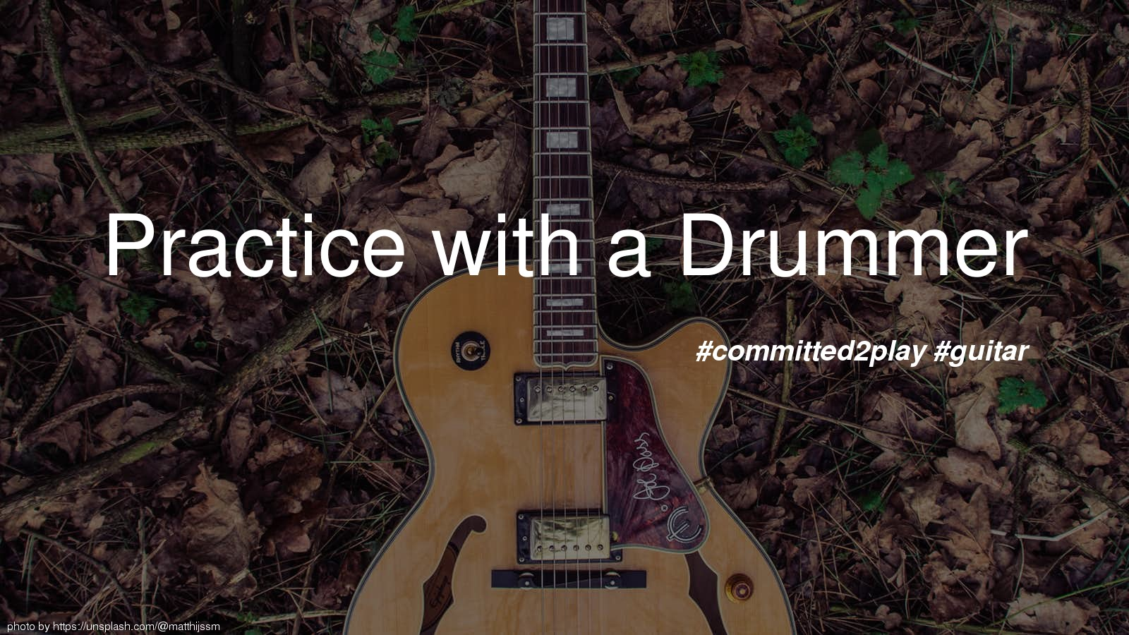 Practice with a Drummer